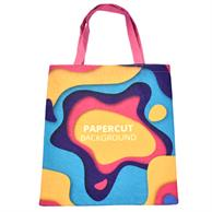 FULL COLOR TOTE BAG WITH 80 GSM PET