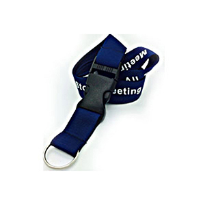 """1/2"""" Polyester Lanyard w/ Buckle Release"""
