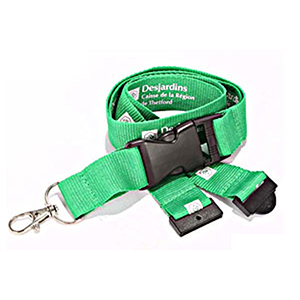 """3/4"""" Polyester Lanyard w/ Buckle Release"""