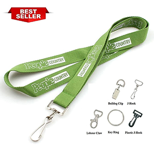 "3/4"" Best Seller Polyester Screen printed Lanyard"