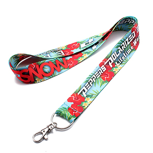 "1"" Dye Sublimation Lanyard"