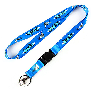 "5/8"" Dye Sublimation Lanyard W/ Buckle Release"