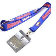 Usa Made 5/8 Inch Dye-Sublimation Lanyard With Pvc Id Card