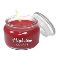 Aromatherapy Wax Candle 8oz Glass Patio Jar