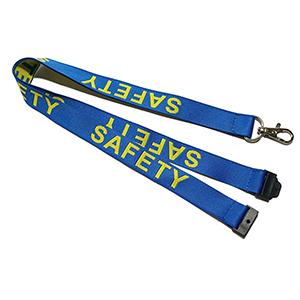 """5/8"""" Woven Lanyard w/ Safety Breakaway"""