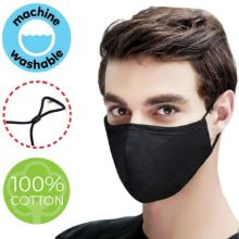 4 Layer Heavy Duty Cotton Face Mask w/ Adjustable Ear Loop