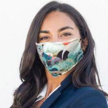 Adjustable Face Mask, full color cloth safety masks 4 Layer