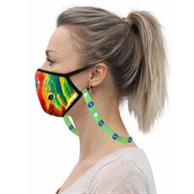 3 Layer Safety Face Mask Lanyard Combo W/ Full Color Imprint