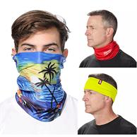 Reusable Face Bandana w/ Custom Imprint Dust Protection Mask
