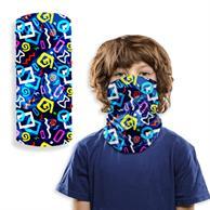 Kids 2-Layer Reusable Kids Face mask Full Color Bandana