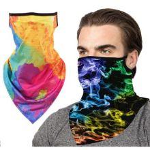 Full Color Face Bandana mask Reusable Tube w/ Ear Loop