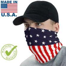 USA Made Face Buffs w/ Full Color Imprint Neck Gaiter