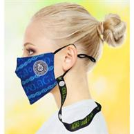 3 Layer Face Mask Lanyard Combo W/ Custom Imprint Polyester