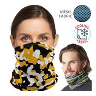 Cooling Neck Gaiter W/ Full Color Logo Antibacterial Bandana