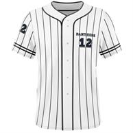 Men'S Full Button Front Baseball Jersey