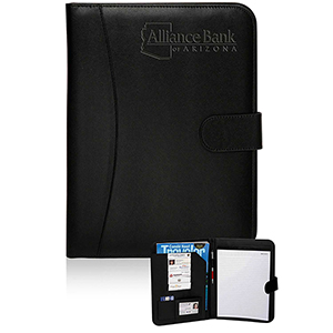 Prestige Black Leather Portfolios