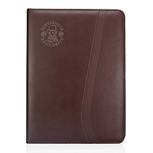 Brown Leatherette Portfolios