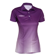 Womens Sublimation Polo 150 GSM 100% Polyester Performance