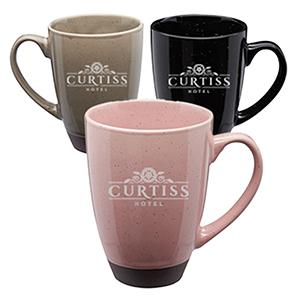 16 Oz Gradient Speckle Cermaic Mugs