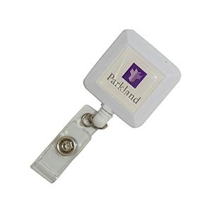 Square Blank Badge Reel