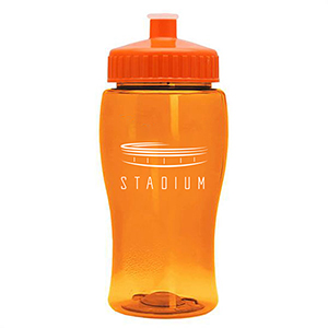 18 oz Jr. Poly-Pure Transparent Bottle