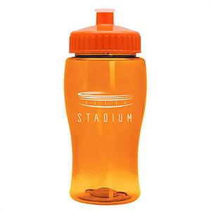 18 Oz Jr. Poly-Pure Transparent Bottle