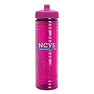 24 oz. Slim Fit Transparent Watter Bottle