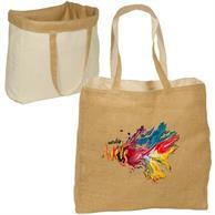 Reversable Jute/Cotton Bag