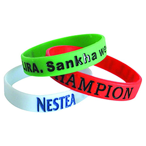 "1"" Color Filled Wristband"