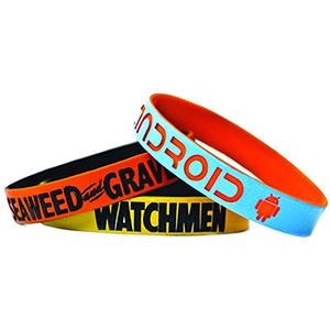 """1"""" Dual-Layered Wristband"""