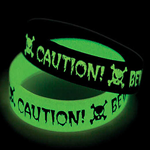 "3/4"" Glow-in-the-Dark Wristband"