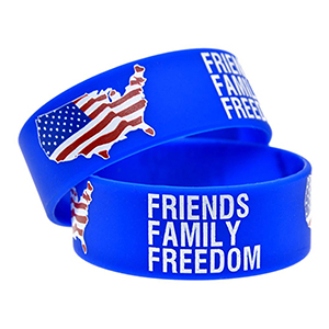 "1"" Printed Wristbands"
