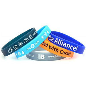 """1"""" Printed Wristbands"""