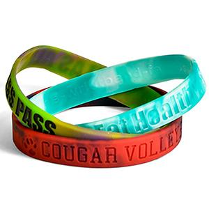 "1/2"" Swirl Wristband"