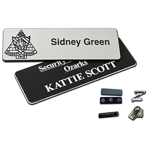 "1"" x 3"" Engraved Name Badge"