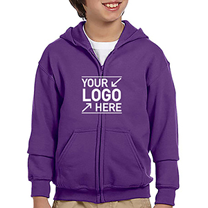 Gildan Youth HeavyBlend Full Zipper Sweatshirt