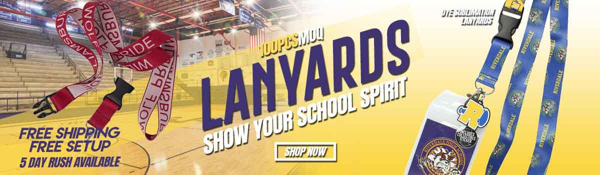 Custom Lanyards Free Shipping No Setup Fees